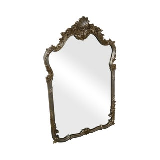 LaBarge French Louis XV Style Silver Gilt Wall Mirror