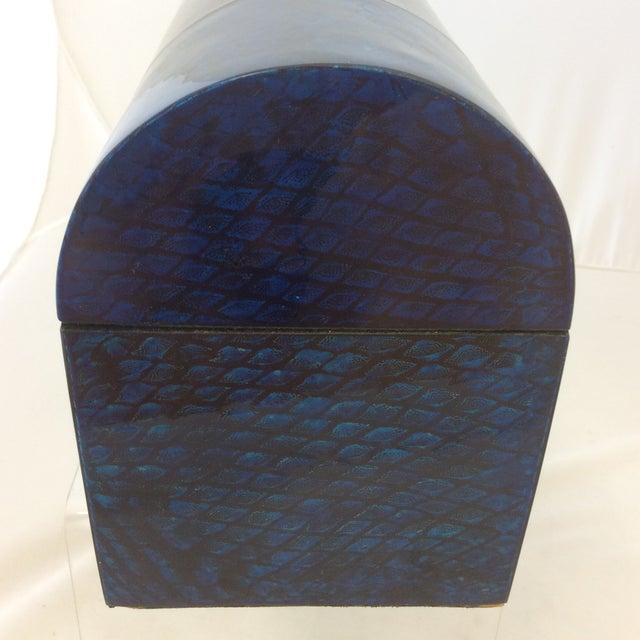 Maitland- Smith Lapis & Penshell Box - Image 6 of 11