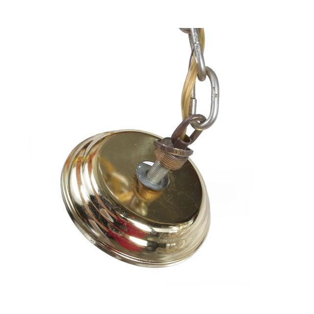 7-Tier Brass & Lucite Chandelier - Image 5 of 11