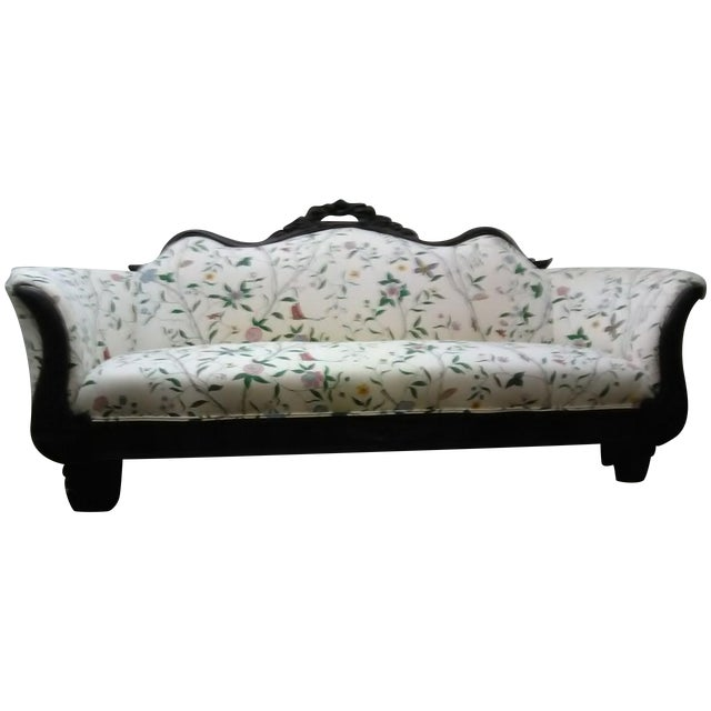 Sectional Couches Las Vegas Nv: Circa 1890 Victorian Style Floral Sofa