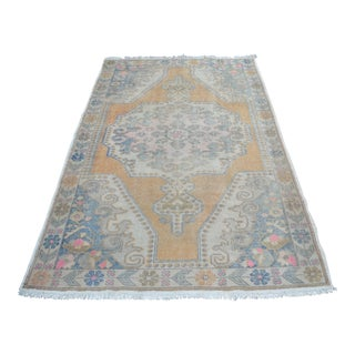 Antique Turksih Oushak Rug - 4′7″ × 7′1″