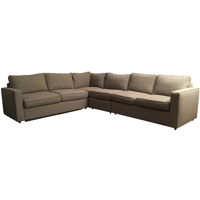 Room & Board York Sectional Sleeper Sofa - Image 1 of 5