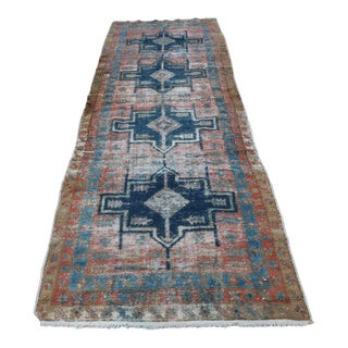 Antique Persian Melayir Rug - 3' × 10'