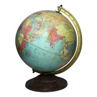Vintage 1952 Replogle Reference Globe