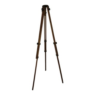 Vintage Wood Tripod Base