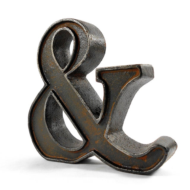 Cast Iron Ampersand Paperweight - Image 4 of 7