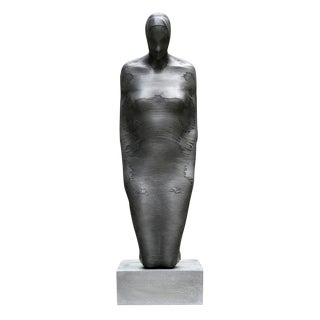 Emil Alzamora Kneeling Woman Sculpture