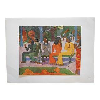 1949 Paul Gauguin Vintage Ltd. Ed. Post Impressionist Lithograph