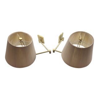Hinson Swing Arm Wall Sconces - A Pair