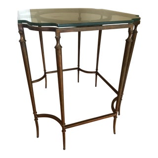 Stanley Arrondissement Metal & Glass Table
