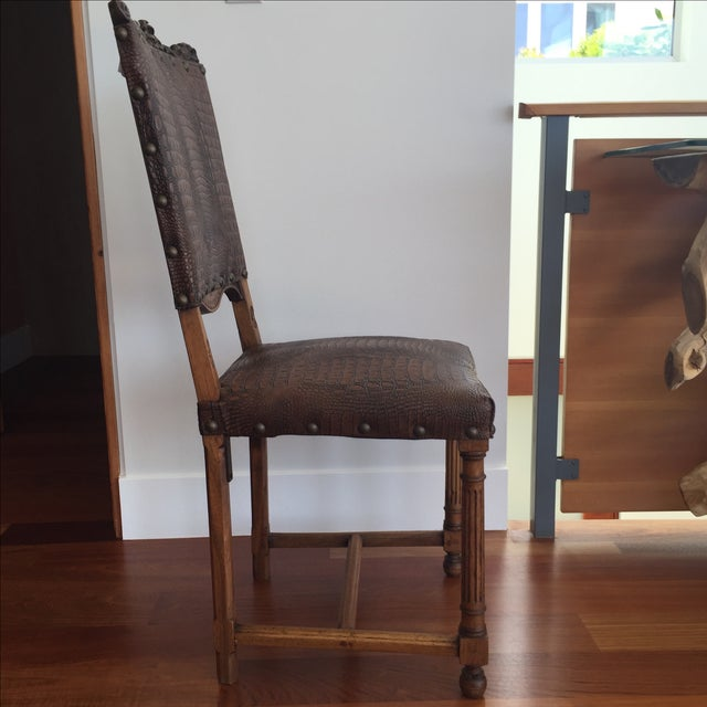 spanish dining room chairs set of 6 chairish