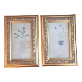 1980 Framed Midsummer Night's Dream Quotes - A Pair
