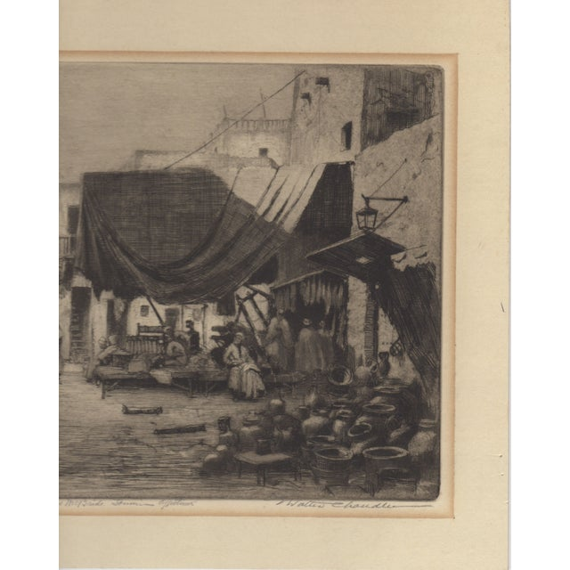 1930's Etching by Walter Chandler - Image 2 of 5