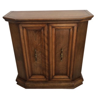Petite Wooden Hall Cabinet