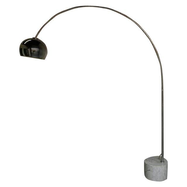 Mid-Century Italian Arc Floor Lamp - Image 1 of 3