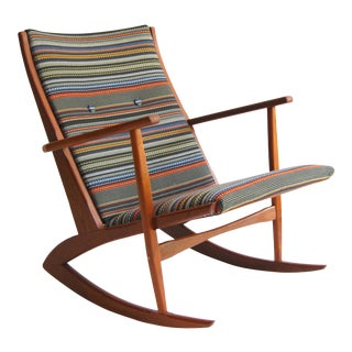 Georg Jensen for Kubus Boomerang Rocking Chair