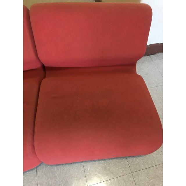 Orange Herman Miller Chadwick Modular Seating - Image 5 of 11