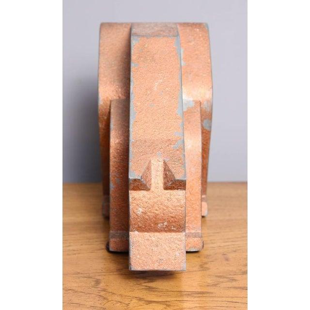 Aluminum and Metal Store Display Bear - Image 3 of 5