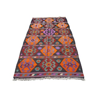 "Hexagon Design Kilim Rug - 5'2"" x 10'6"""