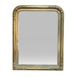 French Style Gold & Green Wall Mirror