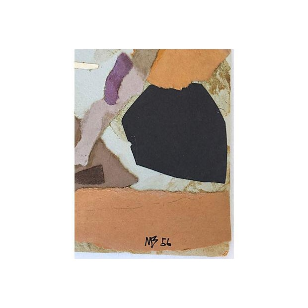 Mariette Bevington Mid-Century Collage - Image 2 of 5