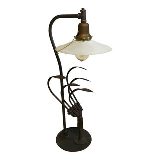 Vintage Garden Cultivater Lamp