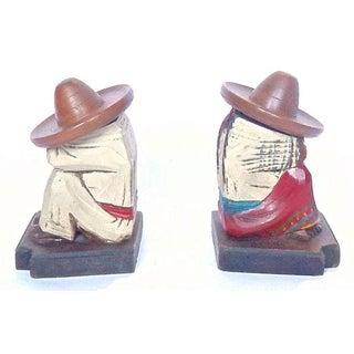 Vintage Siesta Charros Candleholder Bookends - 2