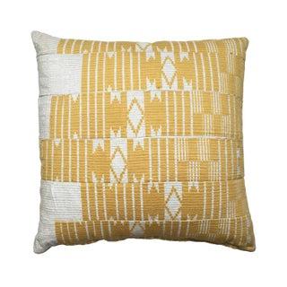 Vintage Aso Oke Textile Pillow