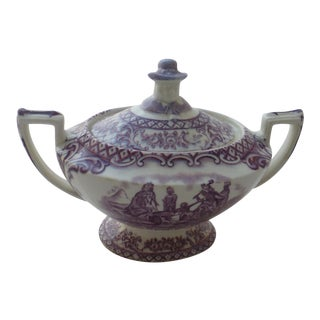 Royal Crown Ducal Colonial Times English Sugar Bowl