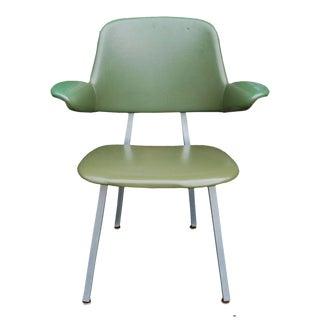 Vintage Mid Century Modern Shaw Walker Aluminum Desk Arm Chair
