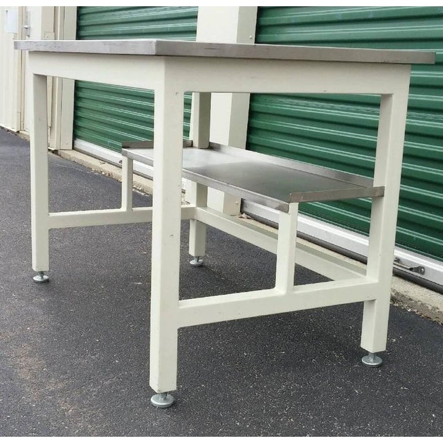 Image of Stainless Steel Lab Work Table or Desk