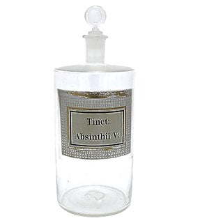 Antique French Absinthe Apothecary Jar