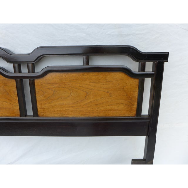 Thomasville Asian Inspired Queen Size Headboard - Image 5 of 7