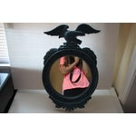 Image of Painted Blue Eagle Federal Mirror
