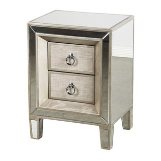 Statements By J Cassidy Wood & Glass Nightstand