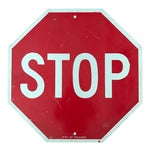 Image of Vintage City of Chicago Stop Sign