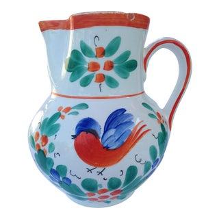 Antique Czech Pottery Creamer