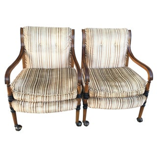 Vintage Tomlinson Chairs - A Pair
