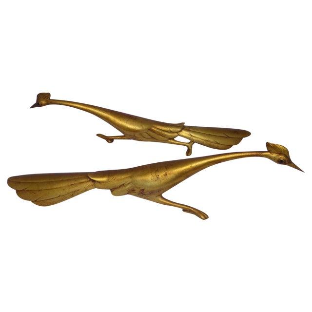 Image of Hollywood Regency Roadrunner Sculptures - A Pair