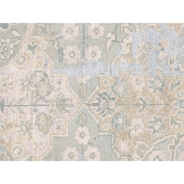 "Pasargad Transitiona Silk Wool Rug - 7'11"" x 9'11"" - Image 2 of 4"