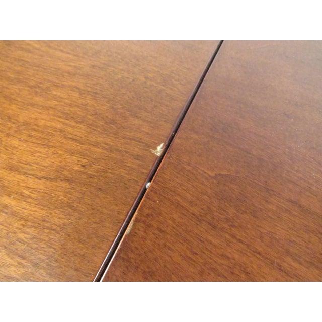 John Stuart Rosewood, Chrome & Leather Dining Set - Image 10 of 11