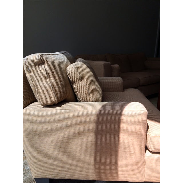 Barbara Barry Baker Lounge Chair & Ottoman - Image 5 of 8