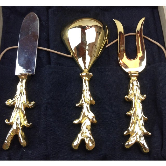 Image of Signed Artisan Serving Set