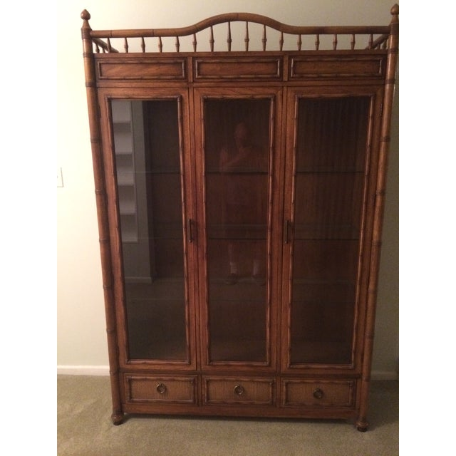 Image of Thomasville China Display Cabinet