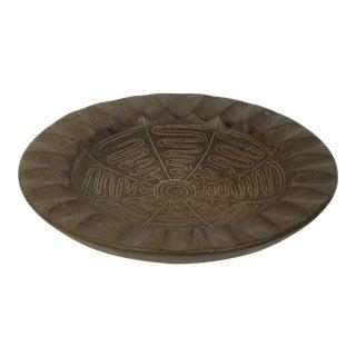 Design Technics Pottery Dish, Mid Century