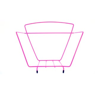 Hot Pink Record Rack