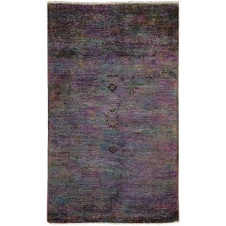 "Vibrance Hand Knotted Area Rug - 3' 1"" X 5'"