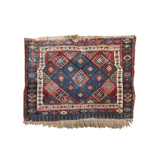 "Antique Jaff Kurd Rug - 2'2"" x 2'11"""