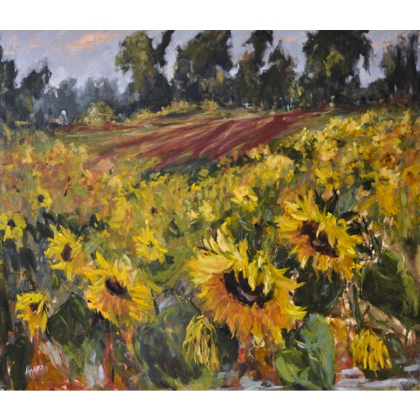 Image of Sunflowers of Summer Painting