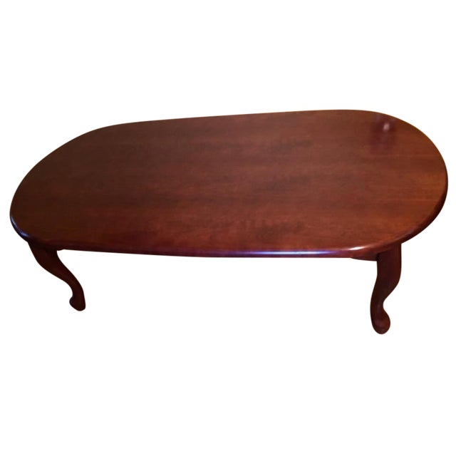 Vintage Traditional Wooden Coffee Table - Image 1 of 3